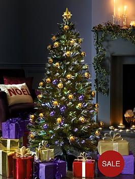 5ft-opulence-ready-decorated-fibre-optic-christmas-tree