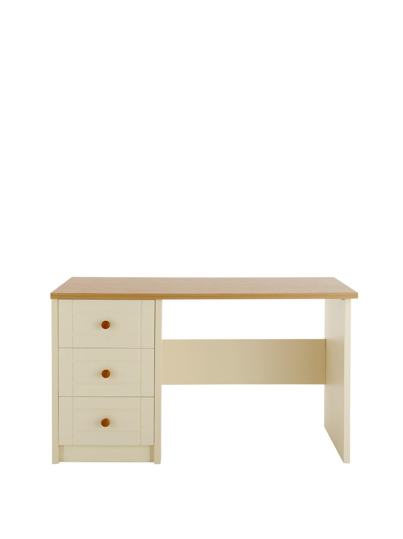 Alderley Ready Assembled Dressing Table, Cream