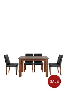 primo-extending-dining-table-4-lucca-chairs-set