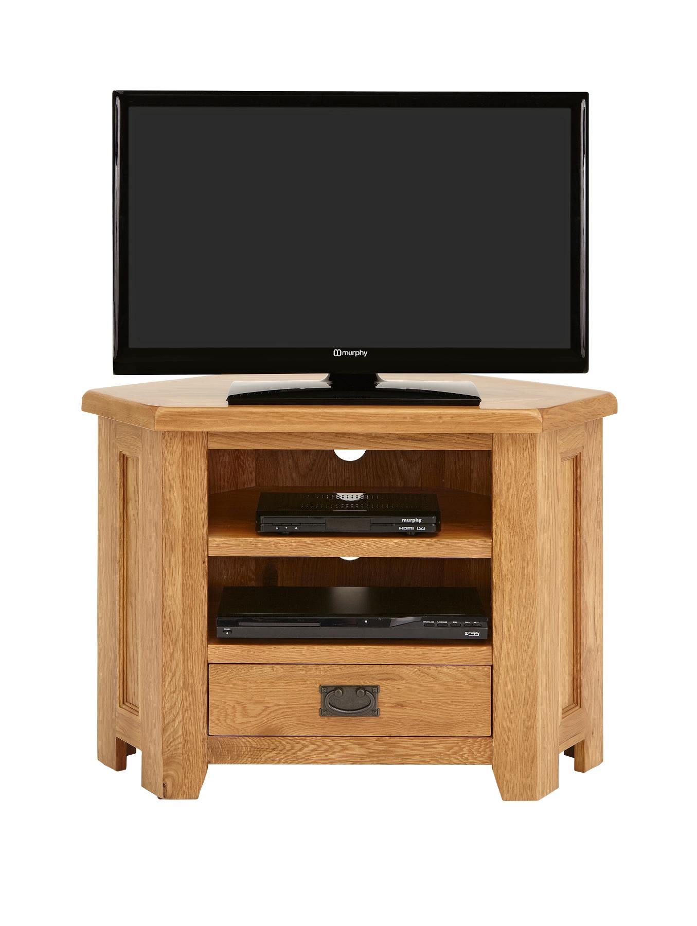 Oakland Ready Assembled Corner TV Unit (Fits up to 42 inch TV)