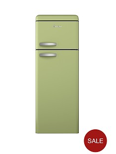 swan-sr11010g-55cm-retro-top-mount-fridge-freezer-green
