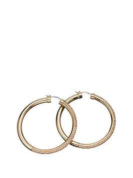 dkny-ladies-rose-gold-glitz-earrings