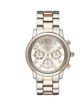 lipsy-silver-and-rose-gold-tone-alloy-bracelet-ladies-watch