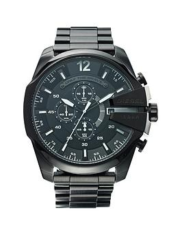 diesel-mega-chief-black-bracelet-mens-watch
