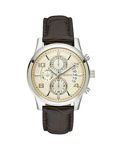 guess-croco-leather-strap-chronograph-mens-watch