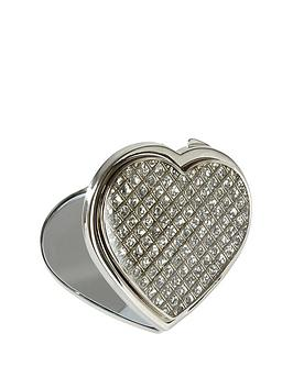 personalised-heart-compact-mirror