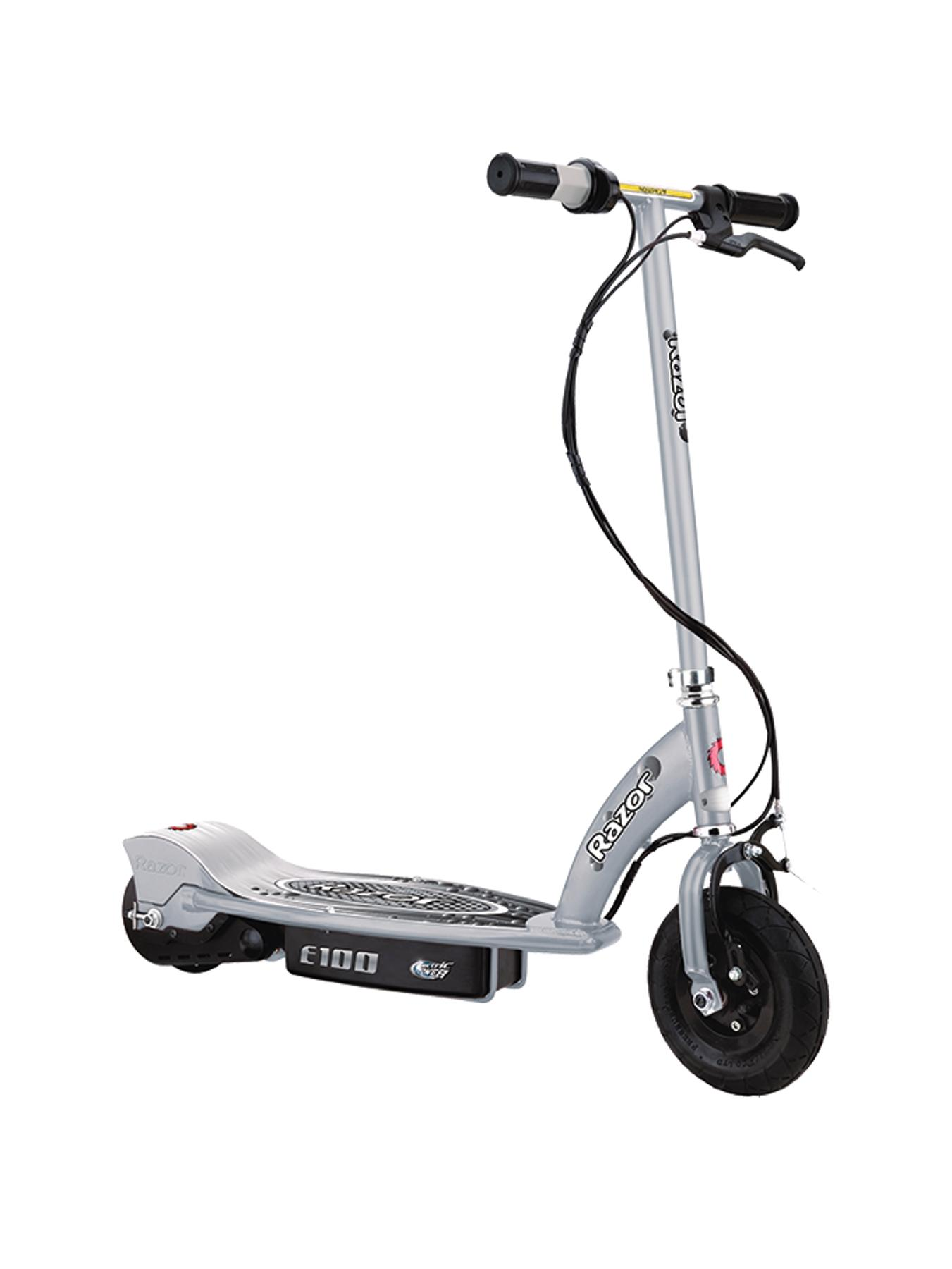 E100 Electric Scooter - Silver