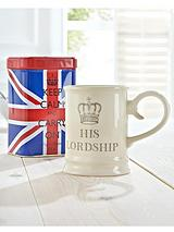Keep Calm and Carry on - His Lordship Mug and Tea