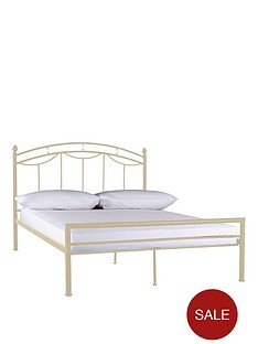 sofia-low-foot-end-metal-bed-frame-with-optional-mattress