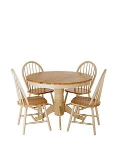 kildare-round-dining-table-and-4-chairs-set