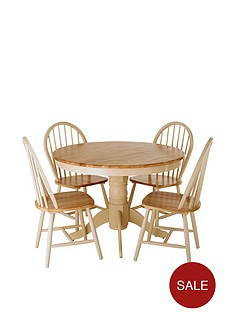 kildare-round-table-4-chairs