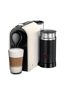 Nespresso U And Milk Xn260140 Coffee Machine By Krups  Cream