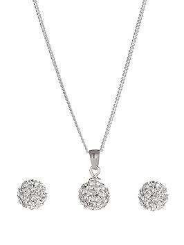 love-silver-sterling-silver-crystal-ball-birthstone-set