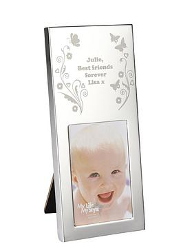 personalised-butterfly-mini-photo-frame