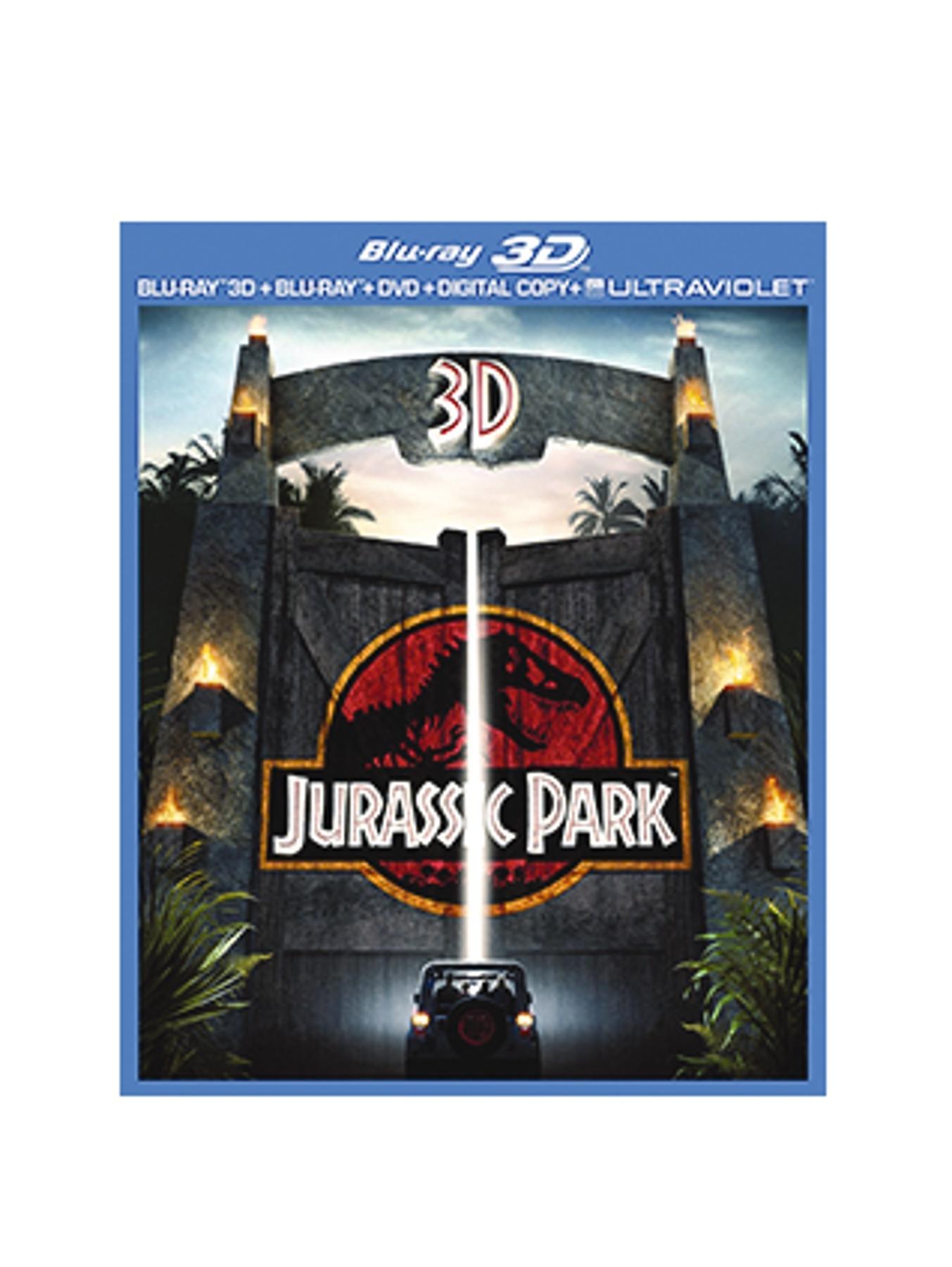 Jurassic Park (2013) 3D Blu-ray