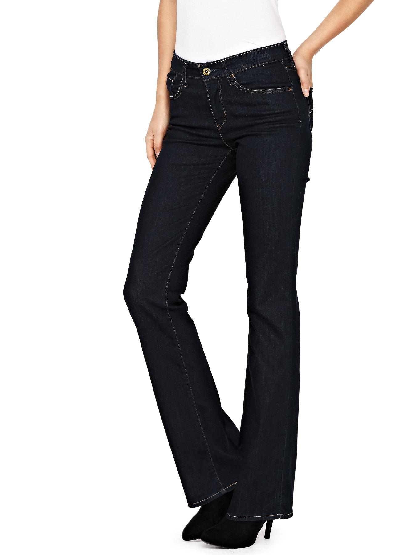 Demi Curve Bootcut Jeans - Richest Indigo, Indigo