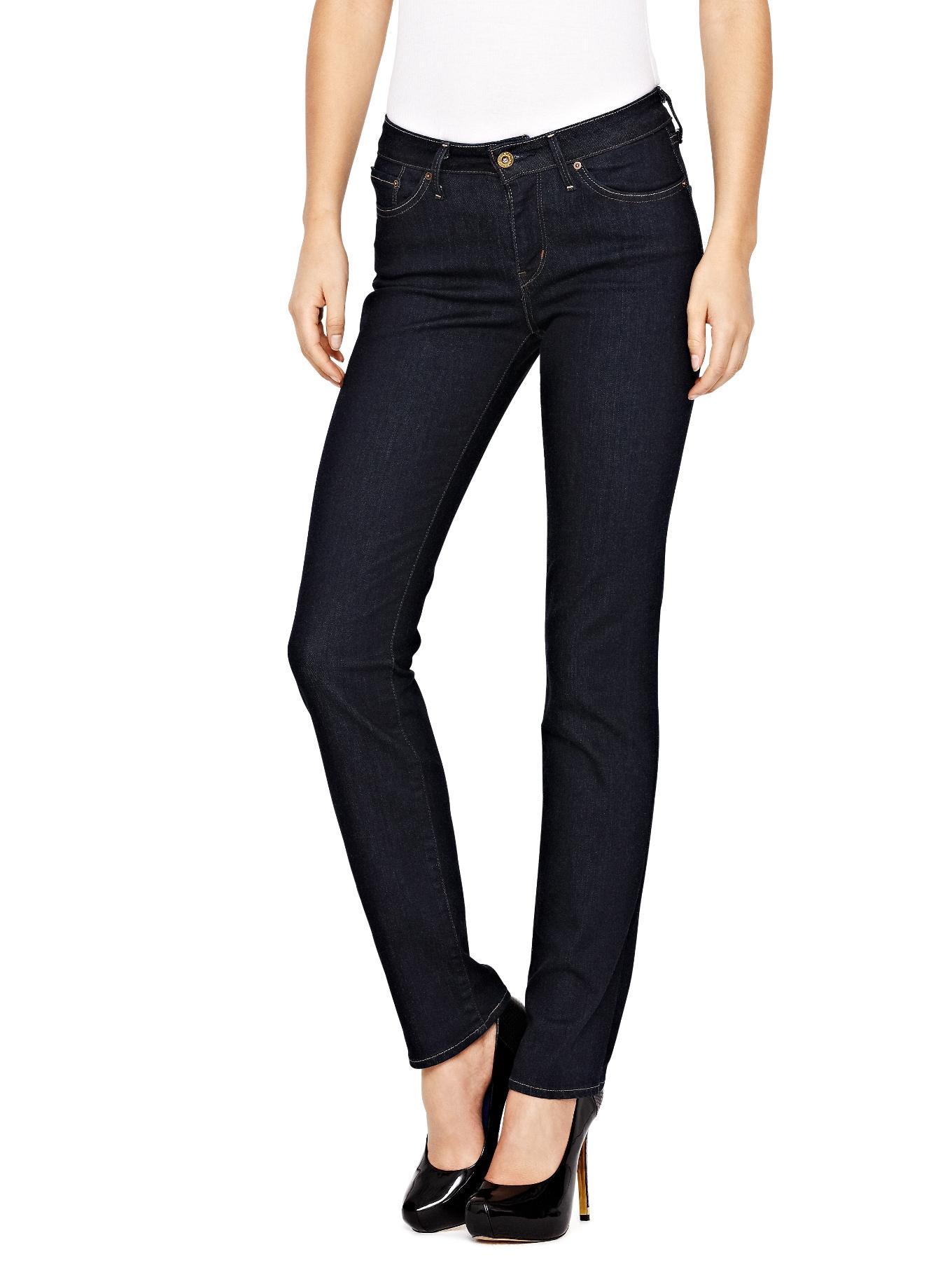 Bold Curve Straight Leg Jeans - Richest Indigo, Indigo