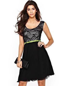 little-mistress-2-in-1-skater-dress-with-contrast-belt