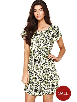 little-mistress-crepe-printed-shift-dress