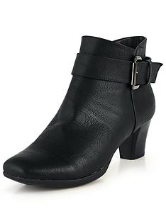 katie-buckle-comfort-ankle-boot-black