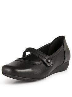 kerry-leather-comfort-bar-shoe-black
