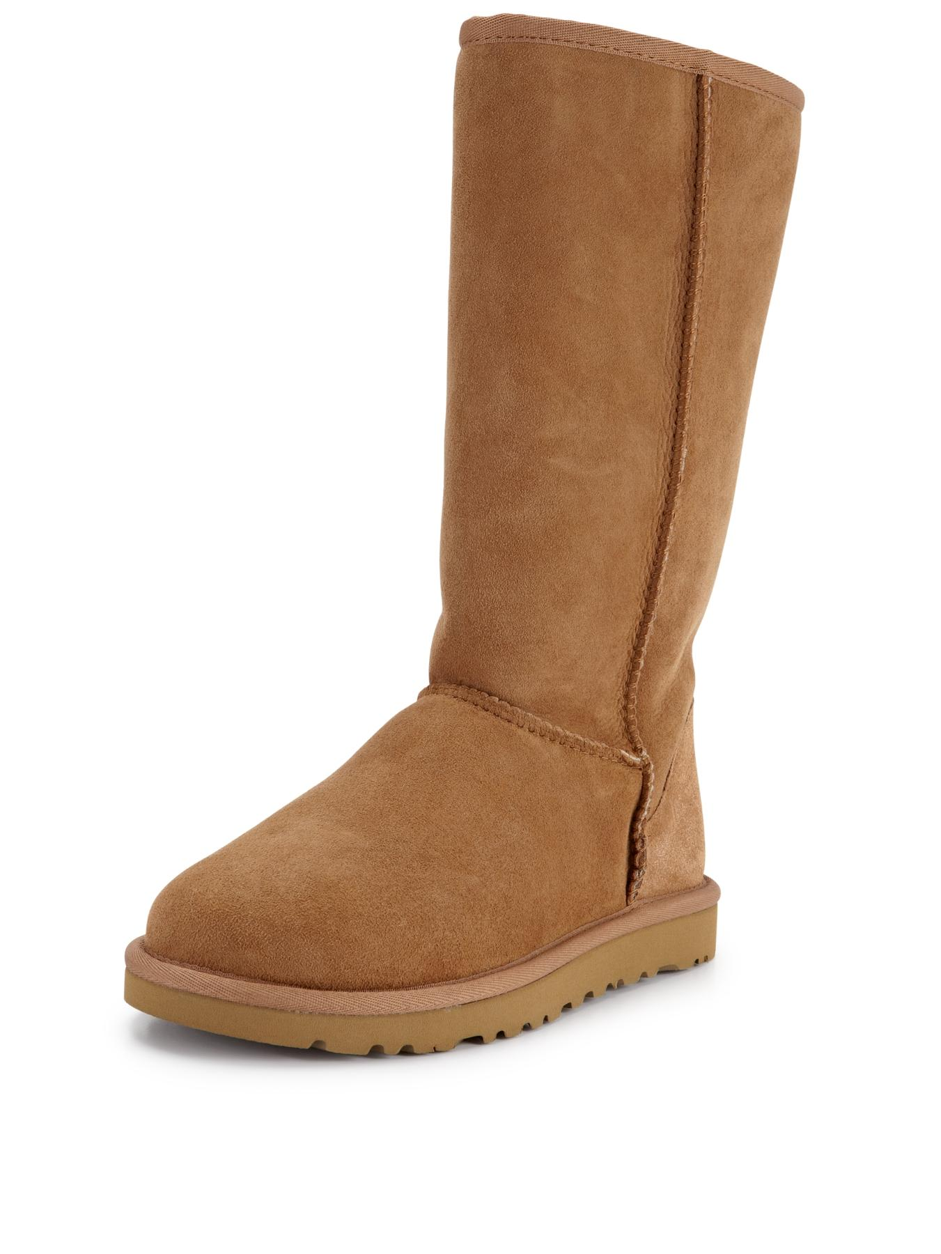 Classic Tall Boots - Chestnut
