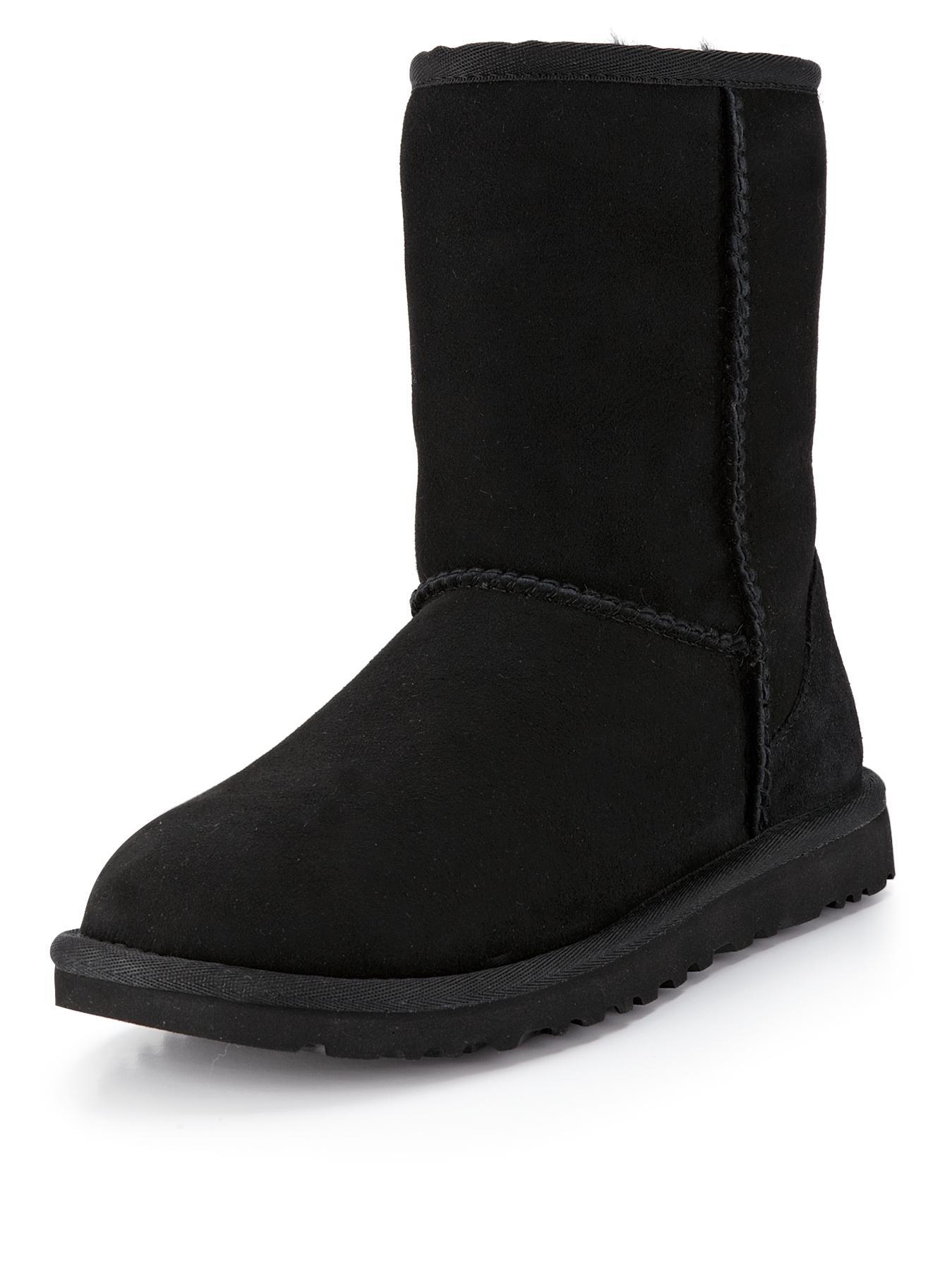 Classic Short Boots - Black, Black