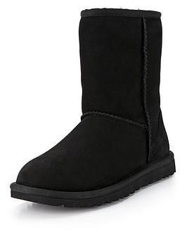 ugg-australia-classic-short-boots-black