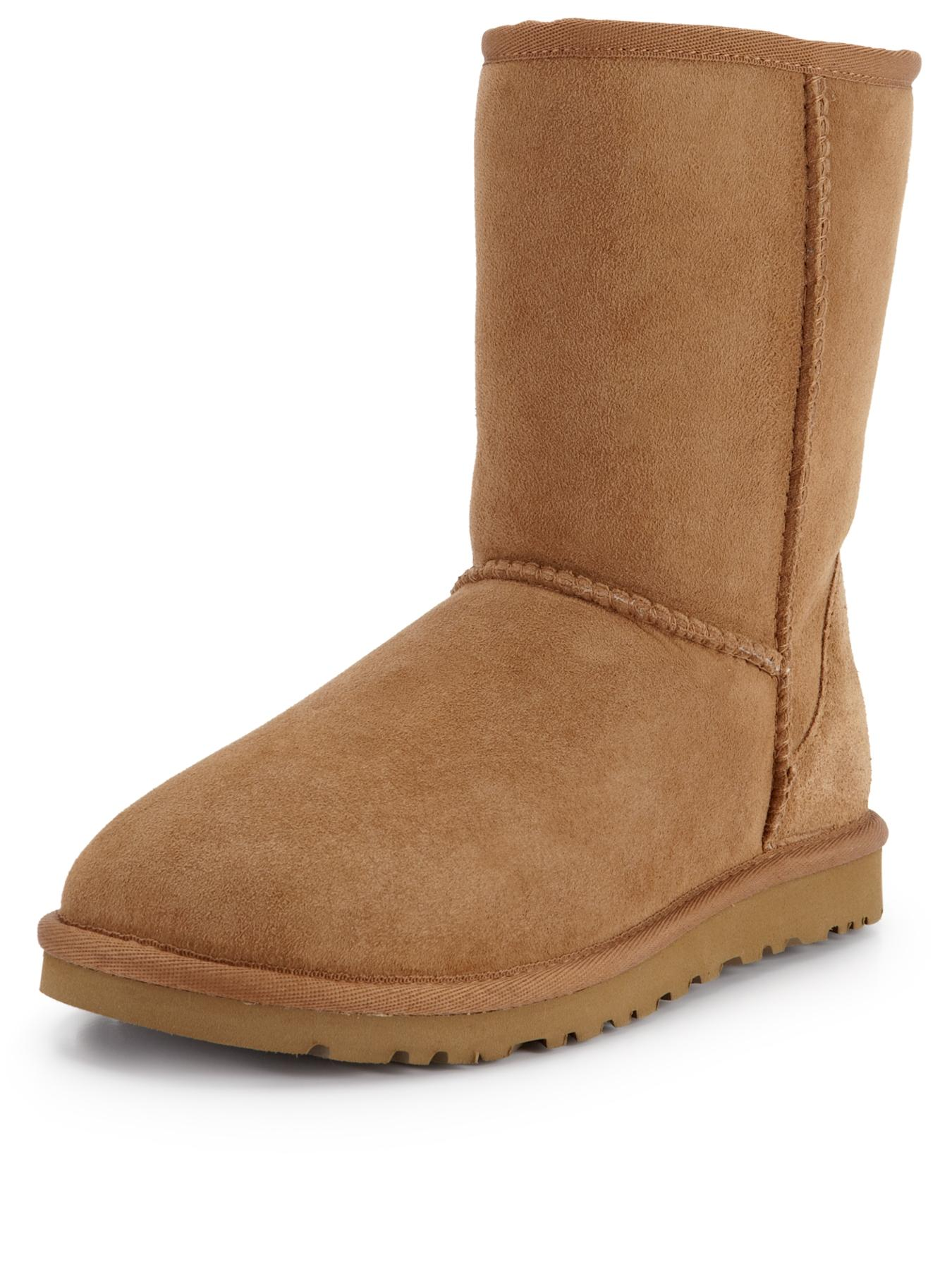 Classic Short Boots - Chestnut