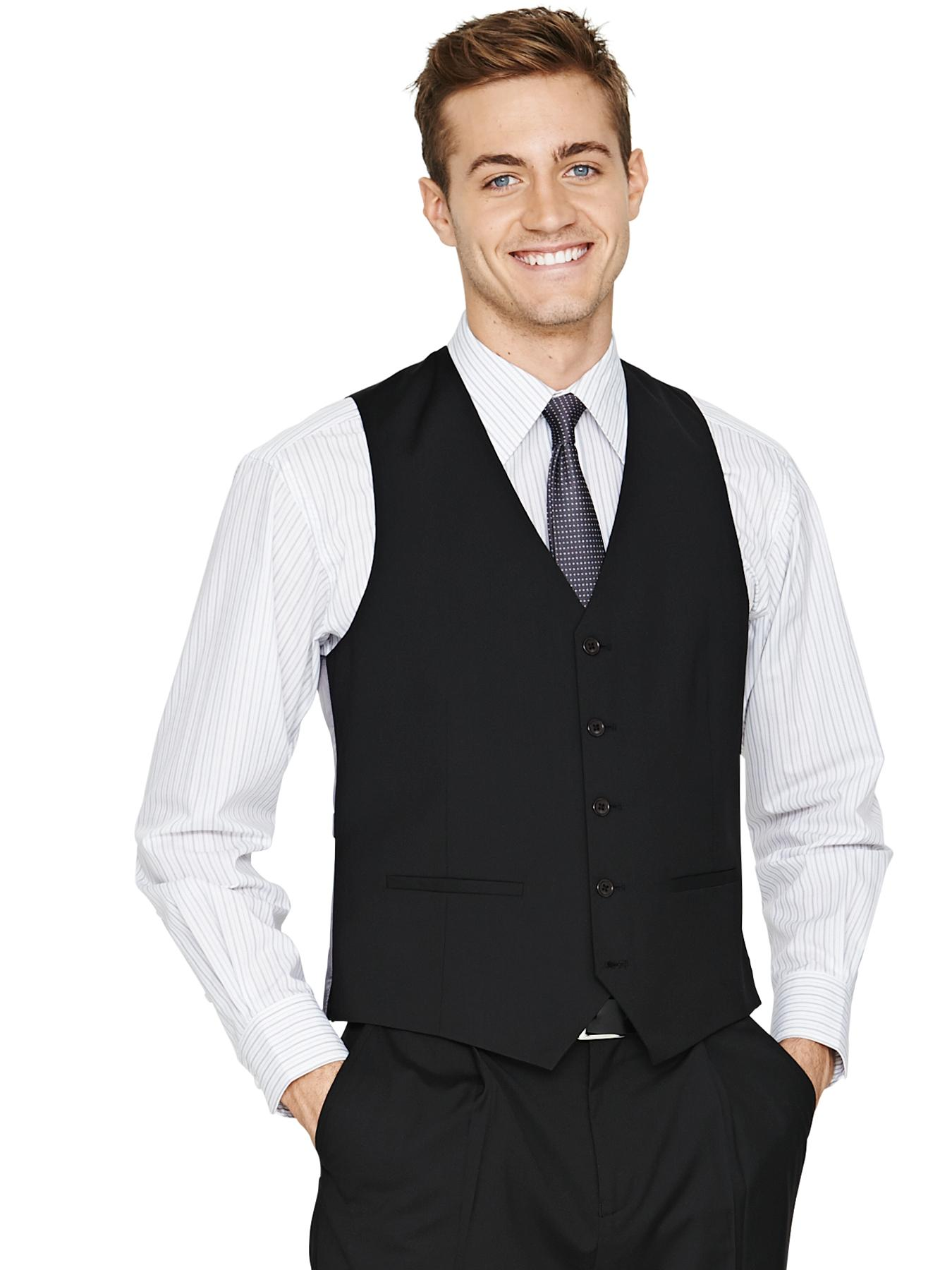 Mens Regular Fit Waistcoat, Black,Navy,Grey
