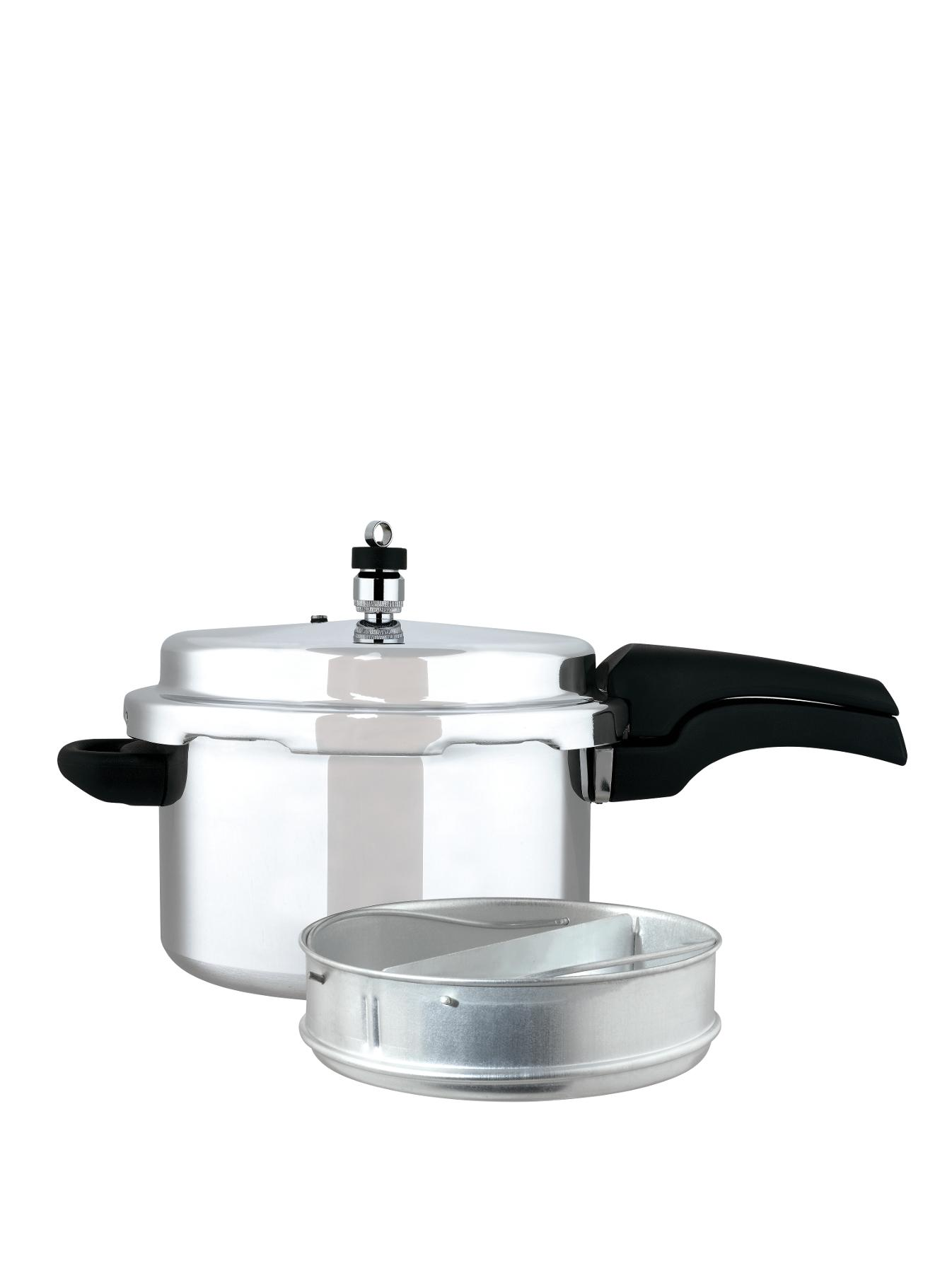 Aluminium High Dome 4-Litre Pressure Cooker