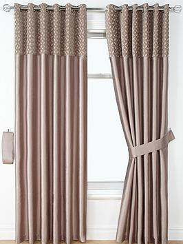 woburn-chenille-faux-silk-eyelet-curtains