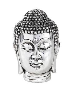 chrome-effect-buddha-head