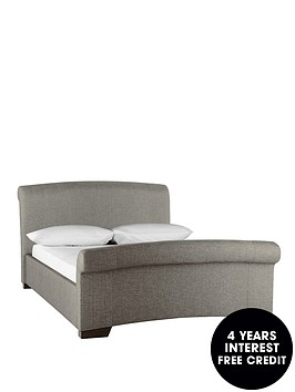 hazel-fabric-bed-frame-with-optional-mattress