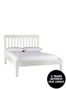 silentnight-keswick-wooden-bed-frame-with-optional-mattress