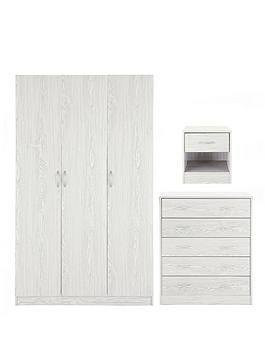 barcelona-3-door-wardrobe-chest-of-5-drawers-and-bedside-cabinet-package-deal