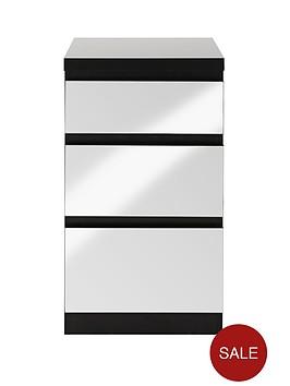 prague-mirror-3-drawer-bedside-cabinet