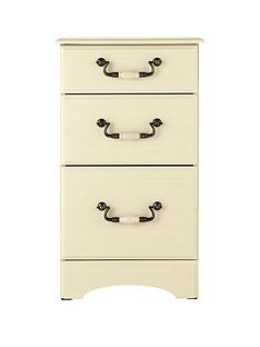 consort-new-avanti-ready-assembled-3-drawer-graduated-bedside-cabinet