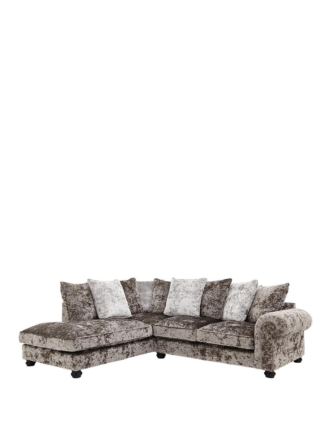 Bowen Scarpa Left Hand Fabric Corner Chaise Sofa