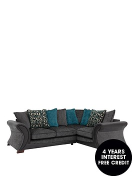 Fresno right hand corner group sofa for Sofa 0 interest free credit