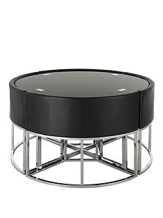 circular-metal-hideaway-dining-table-and-chairs-set