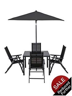 roma-6-piece-recliner-dining-set