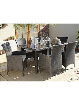 monte-carlo-7-piece-dining-set-with-next-day-delivery-dark-grey