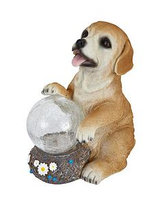 dog-garden-solar-light