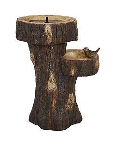 tree-trunk-birdbath