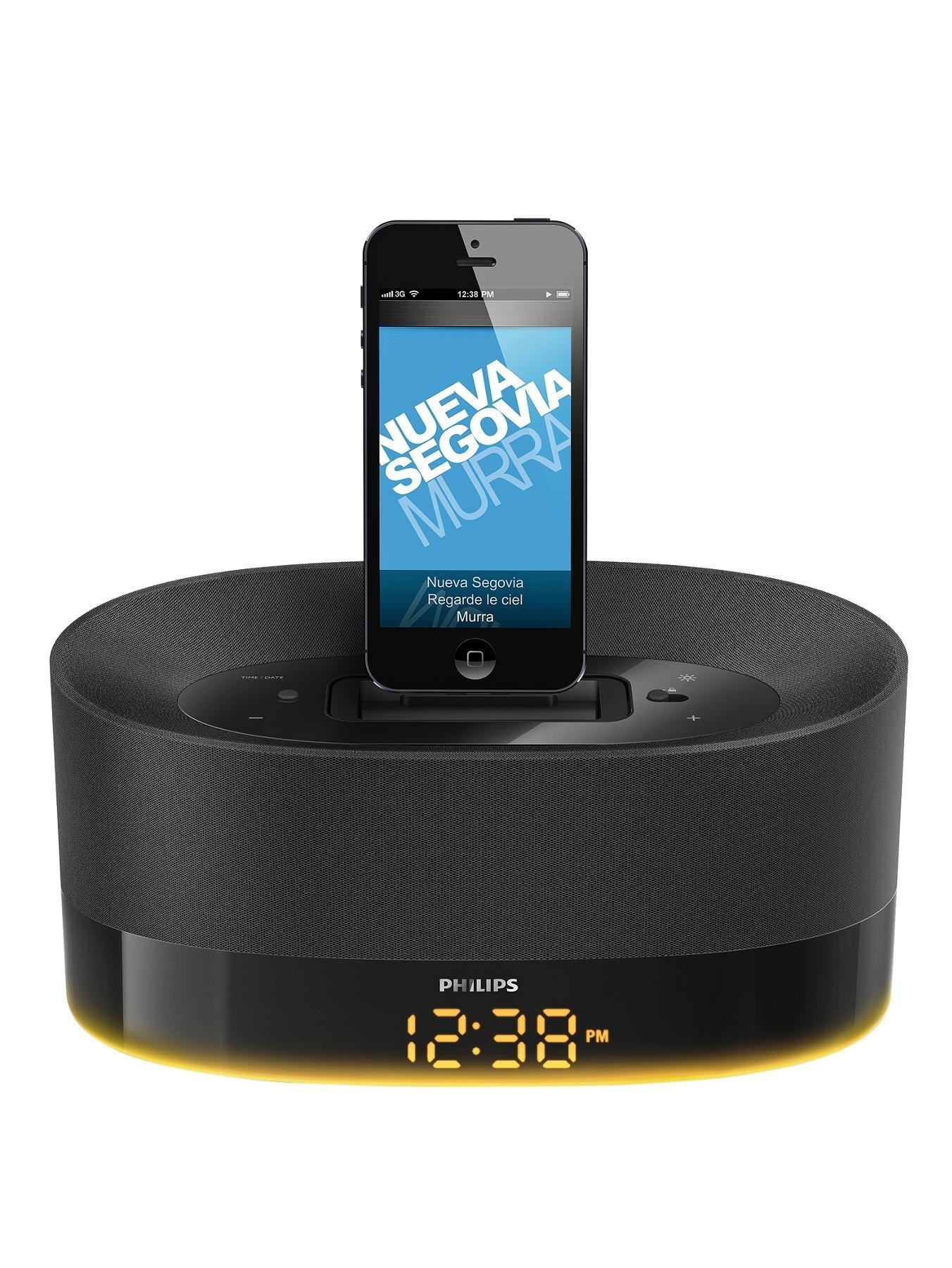 DS1600 Dual Apple Speaker 30 Pin lightning Dock at Littlewoods