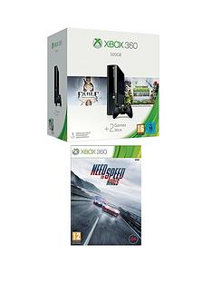 xbox-360-500gb-console-with-plants-vs-zombies-garden-warfare-and-need-for-speed-rivals