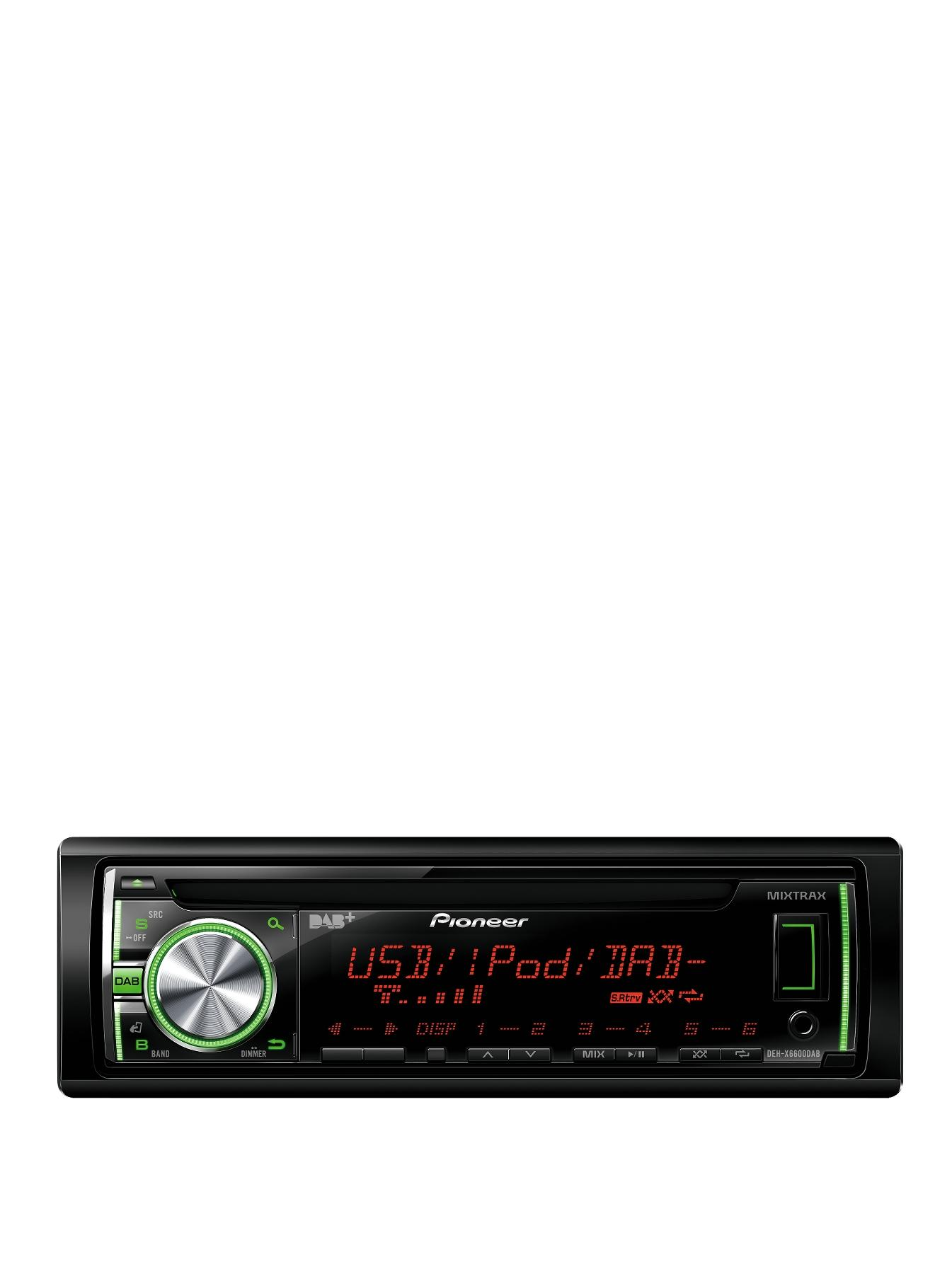 DEH-X6600DAB Car Stereo with DAB and iPod Control