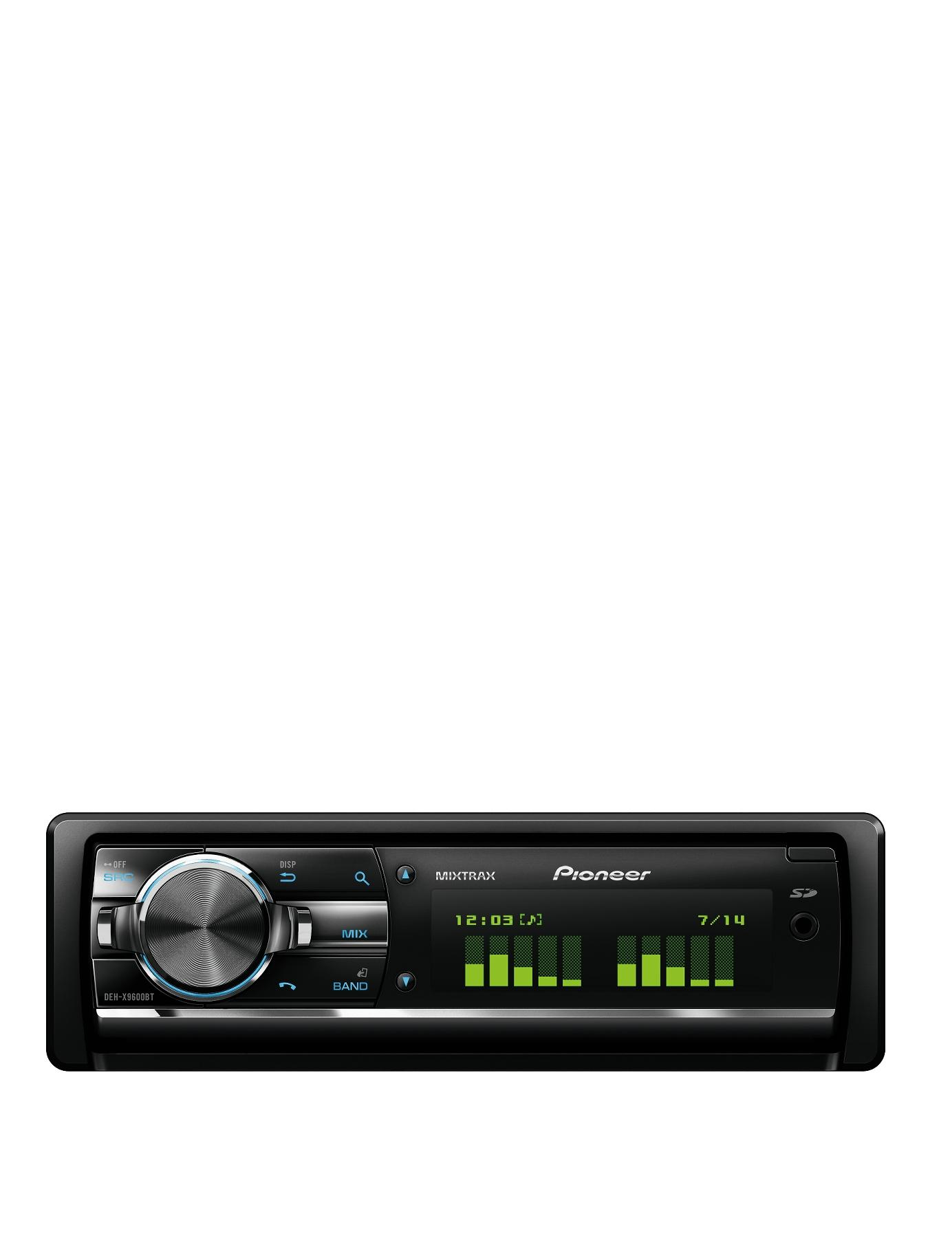 DEH-X9600BT Car Stereo with Bluetooth and iPod Control