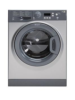 Hotpoint Aquarius Wmaqf721G 1200 Spin 7Kg Load Washing Machine  Graphite
